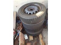 corsa c wheels tyres and hub caps