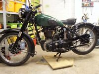 BSA, matchless, triumph etc. British motorcycle wanted.