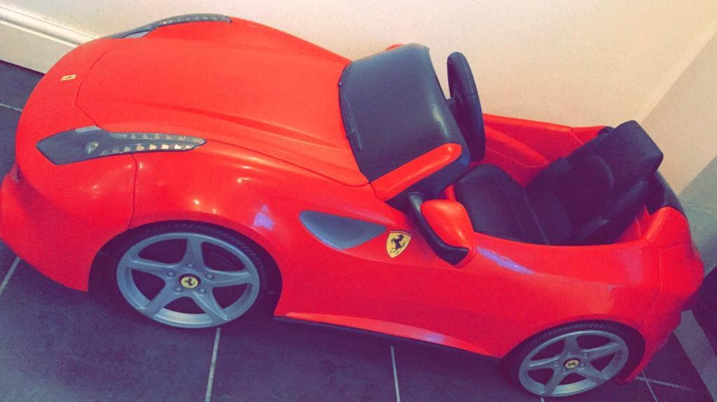 Electric car childrens Ferrariin Stockton on Tees, County DurhamGumtree - Practically brand new never used out of the house as he got to big for itComes with charger Fully electric with reverse
