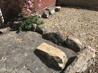 Purbeck Stone Rocks for Rockery/Garden project