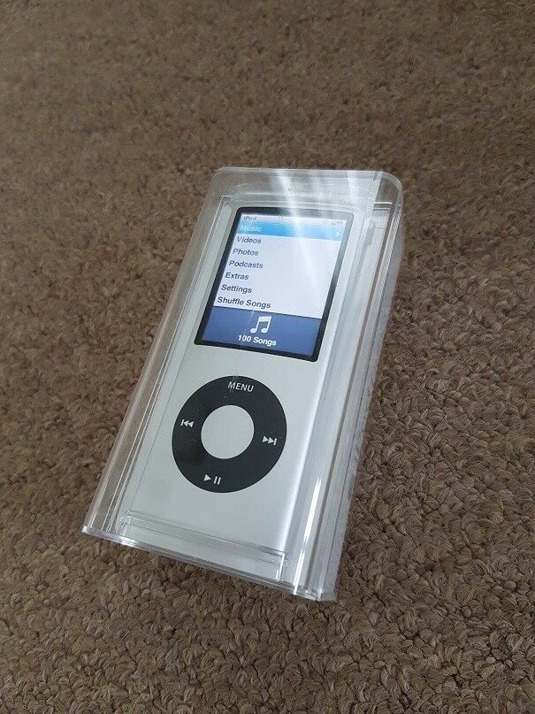 Apple iPod Nano 8Gb 4th Generation in silversuperb conditionin Derby, DerbyshireGumtree - Apple iPod Nano 8Gb 4th Generation in silver in box superb condition Apple iPod Nano 8Gb 4th Generation in silver superb condition This iPod was purchased to just be used in the car and has been in a case all the time, so has not had any knocks like...