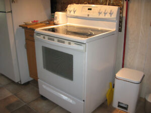 Electric Range And Refrigerator For Sale