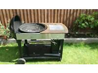 Kettle charcoal barbecue bbq