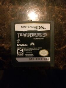 Transformers dark of the moon ds