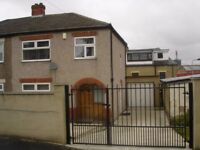 Three bed semi detached house. Within easy reach of Bradford city center and transport routes.