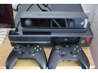 Xbox One with Kinect + 3 games