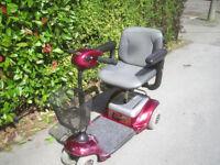 INVAMED mobility scooter, older type but works fine.