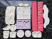 Selection of silicone moulds