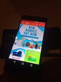 Sony Xperia XZ 32 GB unlocked, Forest blue.