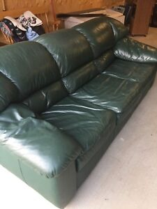 Leather sofa and couch