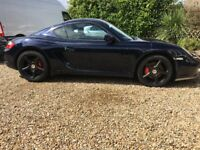 Porsche Cayman s low mileage 3.4l, sat nav loads of extras drives fantastic