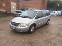 2001 Chrysler grand voyager crd 2.5 diesel