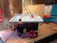 Power craft 1000w table saw