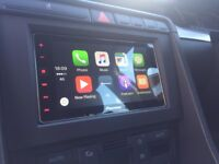 Pioneer SPH-DA120 Double Din Touch Screen app CarPlay radio with Reverse Camera.