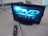 Venturer 18.5 inch LCD hd tv/dvd player with freeview