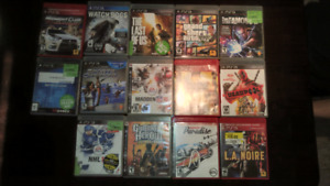 Random PS3 games for sale