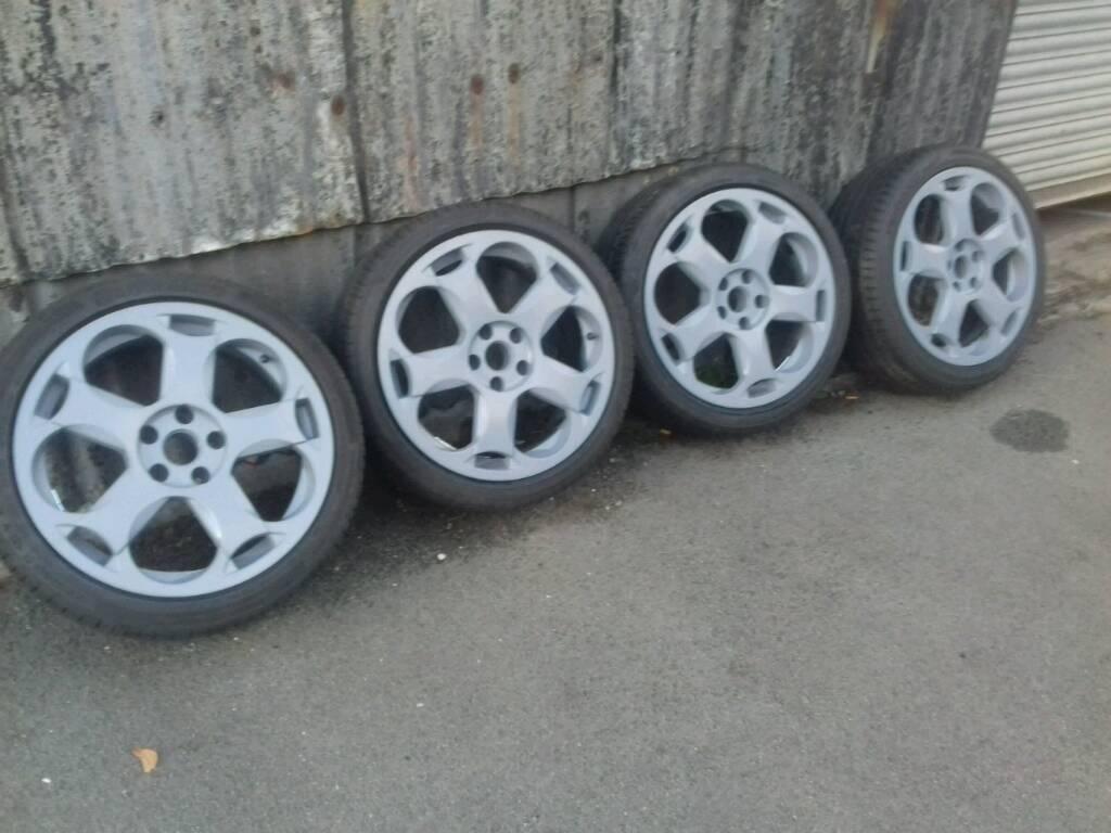 "Lambo style 18"" alloy wheels 5x112"