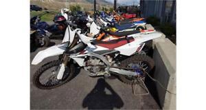 Used 2014 Yamaha YZ250F