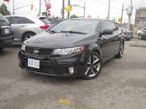 2012 KIA FORTE SX KOUPE | 6-Speed • Leather • Roof