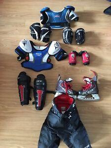 Équipements de hockey enfant