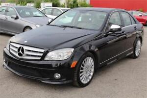 2009 MERCEDES-BENZ C230 4MATIC/AWD, TOIT OUVRANT, BLUETOOTH, A/C