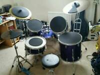 * Yamaha Rydeen 5 Piece Drum Kit *