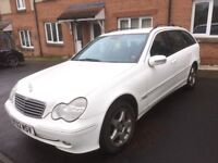 Mercedes C 220 cdi avangarde sem-auto 2002 year manual - Spare Parts Available