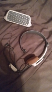 Xbox 360 Headset and Keypad