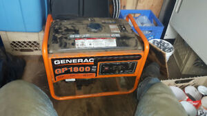 Trade my generator for a canoe