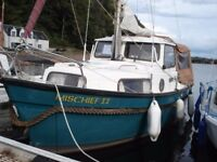 20ft Hardy Motor Sailor