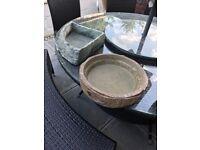 Ex large reptile bowls