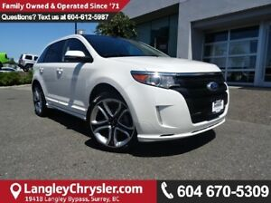 2013 Ford Edge Sport W/ NAVIGATION, LEATHER INTERIOR & BACKUP...