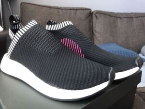 Adidas NMD CS2 City Sock 2 Black Pink size 9.5 + 12 ultra boost