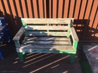 Garden benches - potential upcycling project