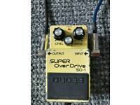 Boss 1983 SD-1 Overdrive Made In Japan