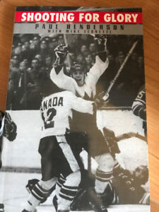 Livre signé : Shooting for Glory (Paul Henderson) Signed book