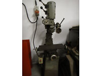pillar drill in good working order 3 phase.