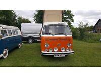 Volkswagen Camper Van 1979 Motor Caravan Petrol left hand drive
