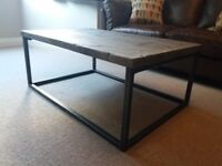 Industrial Chic Style Reclaimed Coffee Table BRAND NEW NEVER USED