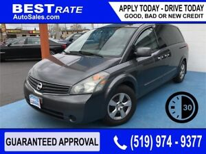 NISSAN QUEST - APPROVED IN 30 MINUTES! - ANY CREDIT LOANS