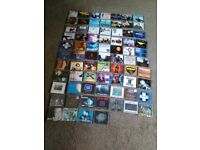 Over 70 cd singles as new 90s dance mostly