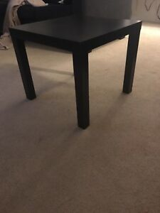 Dark brown side table 20 obo
