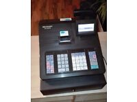 Sharp XE-A207B Cash register, used, 18 months old.