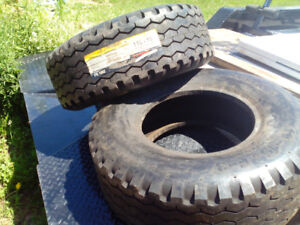 Two New Tractor Front Tires