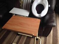 Table,bath seat & board
