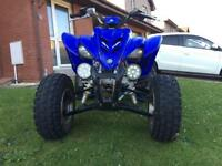 Yamaha Raptor quad bike