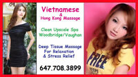 New Girl Lily in Vaughan - Deep Tissue Massage