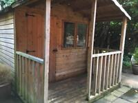 Shed/Summerhouse 12x8 with 4ft Veranda