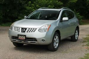 2008 Nissan Rogue SL | AWD | Leather | Sunroof | CERTIFIED