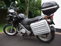 f650gs, 6mths MOT, all keys and accessories, matched panniers and top box, service history, £2300